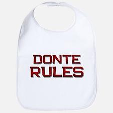 donte rules Bib