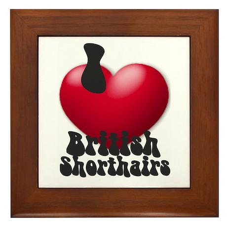 """""""I Love BSHs"""" Framed Tile"""