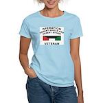 Kuwait Veteran 1 Women's Pink T-Shirt