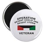 "Kuwait Veteran 1 2.25"" Magnet (100 pack)"