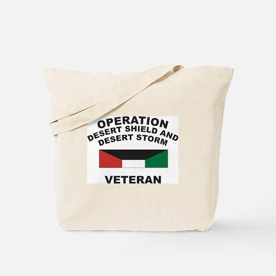 Kuwait Veteran 1 Tote Bag