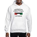 Kuwait Veteran 1 Hooded Sweatshirt