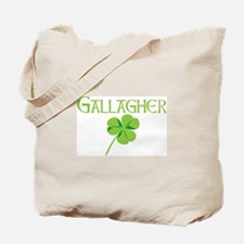 Gallagher shamrock Tote Bag