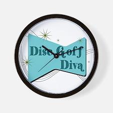 Disc Golf Diva Wall Clock