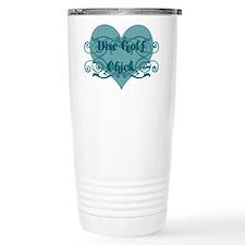 Disc Golf Chick Travel Mug