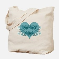 Disc Golf Chick Tote Bag