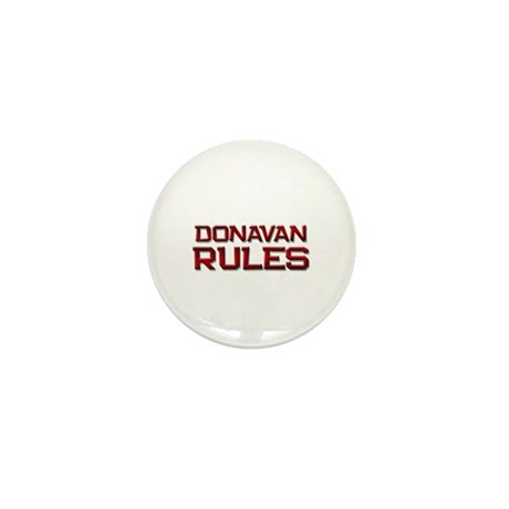 donavan rules Mini Button (10 pack)
