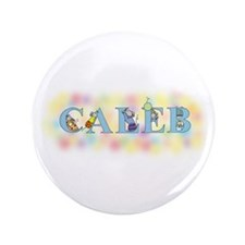 """""""Caleb"""" with Mice 3.5"""" Button"""