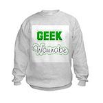 geek Wannabe Kids Sweatshirt