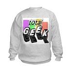 Cool Colors Total Geek Kids Sweatshirt