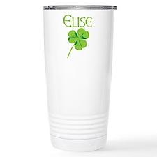 Elise shamrock Travel Mug