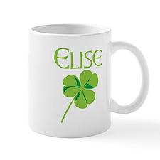 Elise shamrock Mug