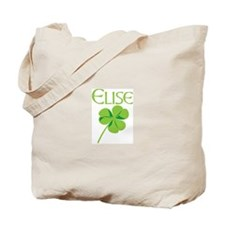 Elise shamrock Tote Bag