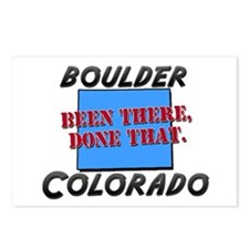 boulder colorado - been there, done that Postcards