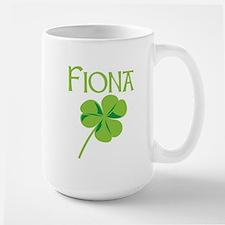 Fiona shamrock Large Mug