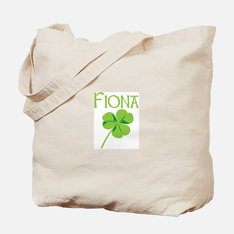Fiona shamrock Tote Bag