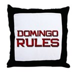 domingo rules Throw Pillow