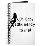 Geek/Gamer Talk Nerdy To me Journal