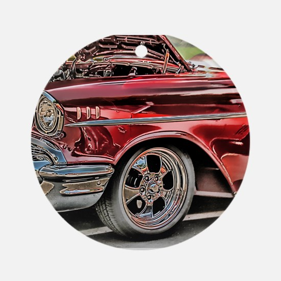 '57 Chevy Ornament (Round)