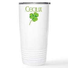 Cecilia shamrock Travel Mug