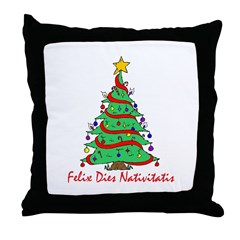 """Merry Christmas!"" Throw Pillow"