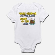 What Happens on the Lake Infant Bodysuit