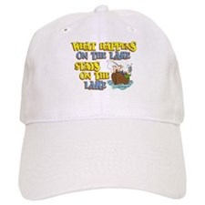 What Happens on the Lake Baseball Cap
