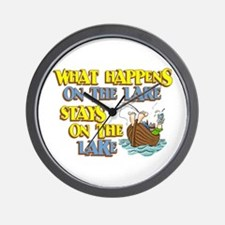 What Happens on the Lake Wall Clock