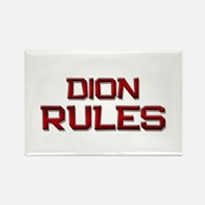 dion rules Rectangle Magnet