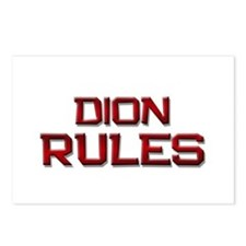 dion rules Postcards (Package of 8)