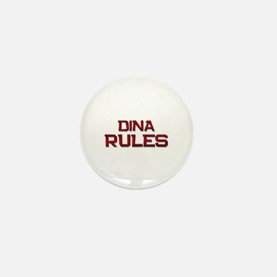 dina rules Mini Button