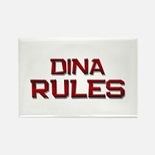 dina rules Rectangle Magnet
