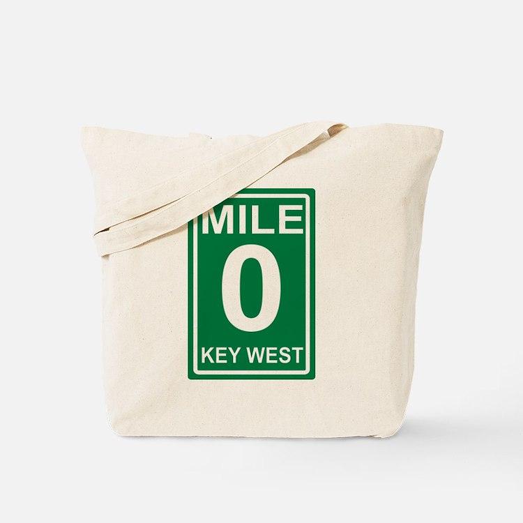 Cute Mile 0 Tote Bag