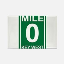 Unique Key west Rectangle Magnet (100 pack)