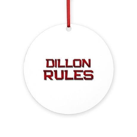 dillon rules Ornament (Round)