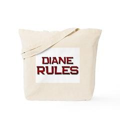 diane rules Tote Bag