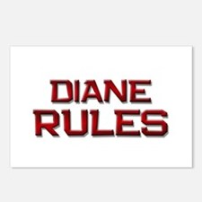 diane rules Postcards (Package of 8)