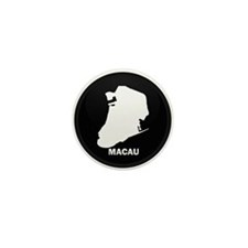 New SectionFlag Map of MACAU Mini Button (10 pack)