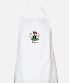 Nigerian Coat of Arms Seal BBQ Apron