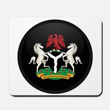 Coat of Arms of nigeria Mousepad