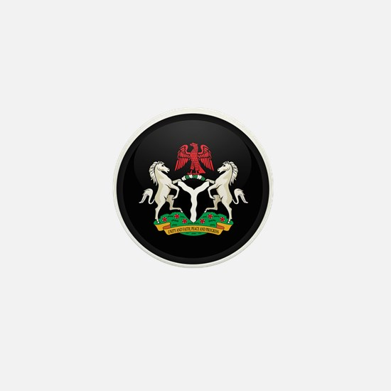 Coat of Arms of nigeria Mini Button