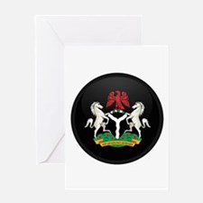 Coat of Arms of nigeria Greeting Card