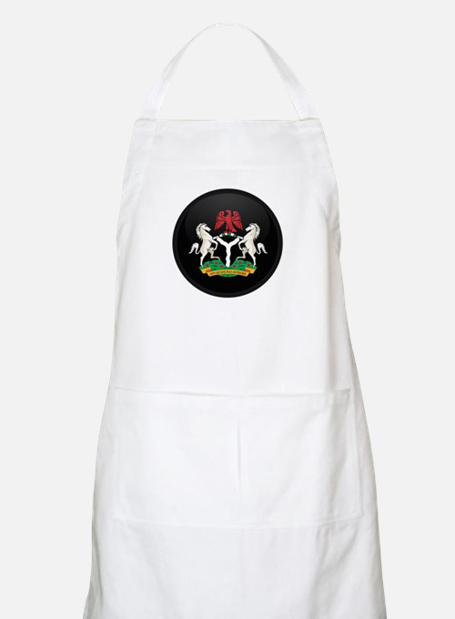 Coat of Arms of nigeria BBQ Apron