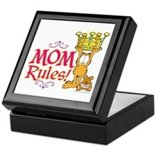 Mom Rules! Keepsake Box