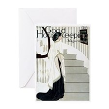 card_fashion_stairs Greeting Cards