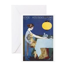 card_fashion_blue Greeting Cards