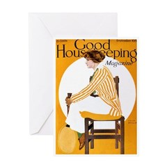 card_fashion_yellow Greeting Cards