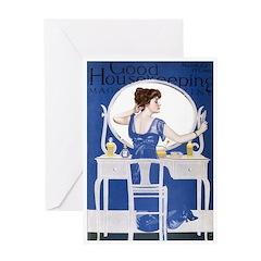 card_fashion_mirror Greeting Cards