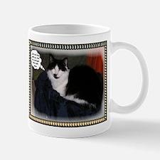 Cat thoughts funny Mug