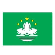 MACAU Flag Postcards (Package of 8)